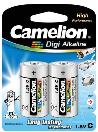Digi Alcalina C (LR14) 1.5V (2 pcs) Camelion