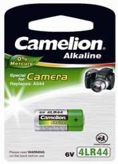 Pila Alcalina 4LR44 6V 0% Mercurio (1 pc) Camelion