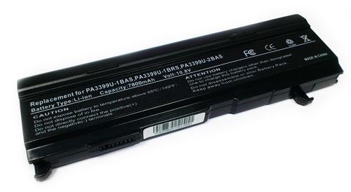 Toshiba Satellite 7800mAh A100 A105 A80 M100
