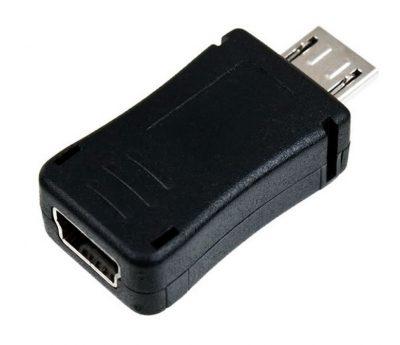 Adaptador Mini USB a Micro USB H/M