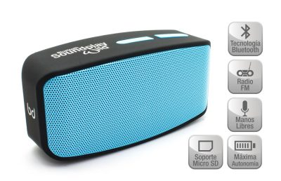 Altavoz SoundPlay Wild Bluetooth Azul Biwond
