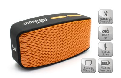 Altavoz SoundPlay Wild Bluetooth Naranja Biwond