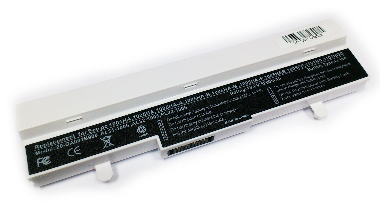 Asus 5200mAh EEE PC 1005, 1101, R101, R105 (BLANCA)