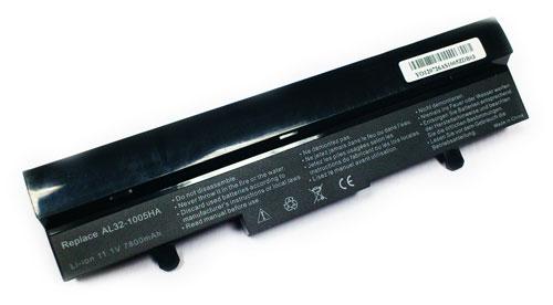 Asus 6600mAh EEE PC 1005, 1101, R101, R105 (NEGRA)