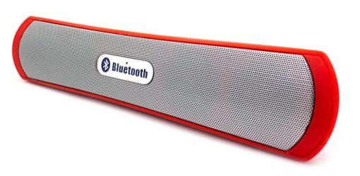 Barra Sonido Bluetooth BE-13 Rojo