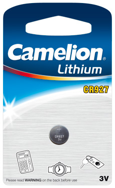 Boton Litio CR927 3V (1 pcs) Camelion
