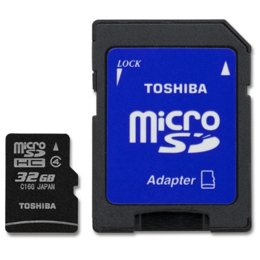 MicroSD 32GB Clase4 Toshiba