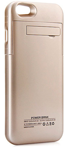 Power Bank 3200mAh Iphone 6/6S Bronce