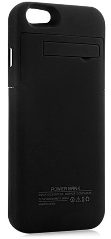 Power Bank 3200mAh Iphone 6/6S Negro
