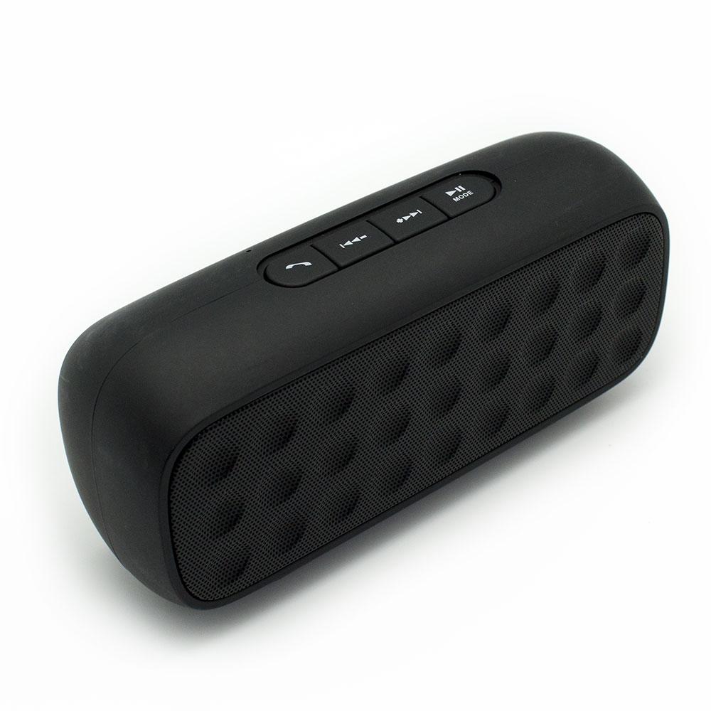 Altavoz Bluetooth Bubble Speaker Negro FM AUX MicroSD Manos Libr