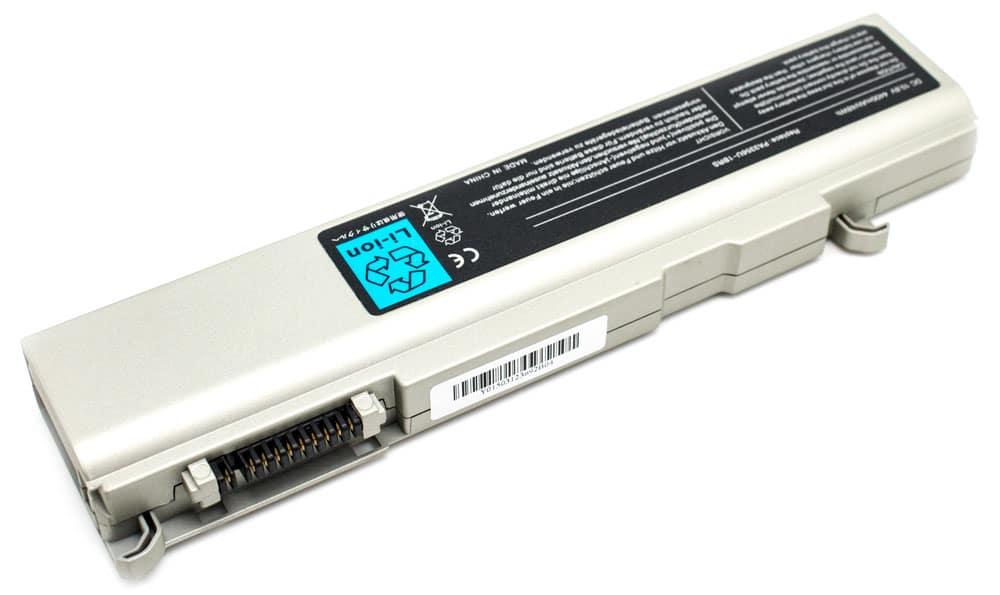 Toshiba 4400mAh SATELLITE M10 MX T10 T11, QOSMIO F20 Plata