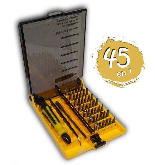 Kit Destornillador 45 en 1