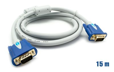Cable VGA 28AWG M/M 15m BIWOND