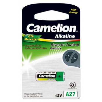 Pila Alcalina LR27A 12V 0% Mercurio (1 pc) Camelion