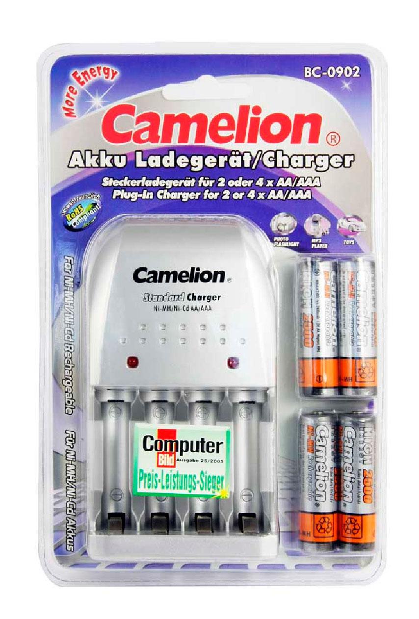 Cargador BC-0902 Camelion