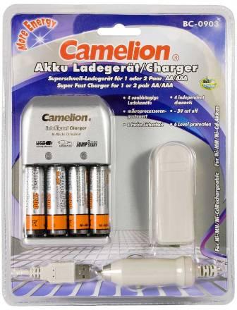Cargador rapido BC-0903 Camelion