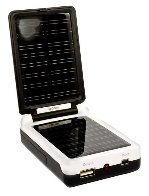 Cargador Solar SBC-3001 Camelion