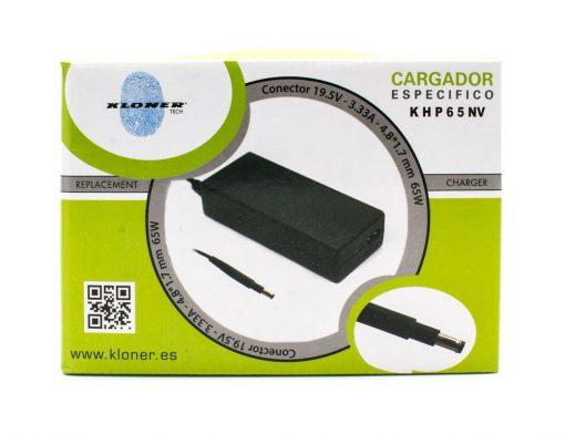 Carg. 19.5V/3.33A 4.8MM X 1.7MM 65W KLONER