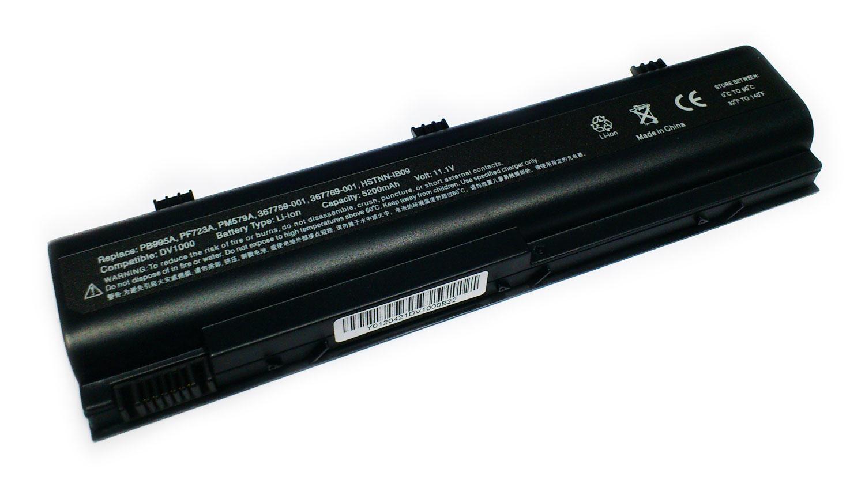HP 5200mAh DV1300 DV1400 DV1500 DV1600 SERIES