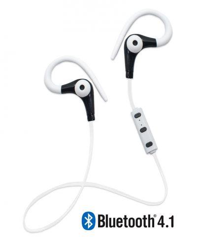 Running Earphones Sports Bluetooth + Micro Biwond Blanco