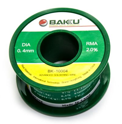 Estańo 0.4mm BAKU-10004 50G