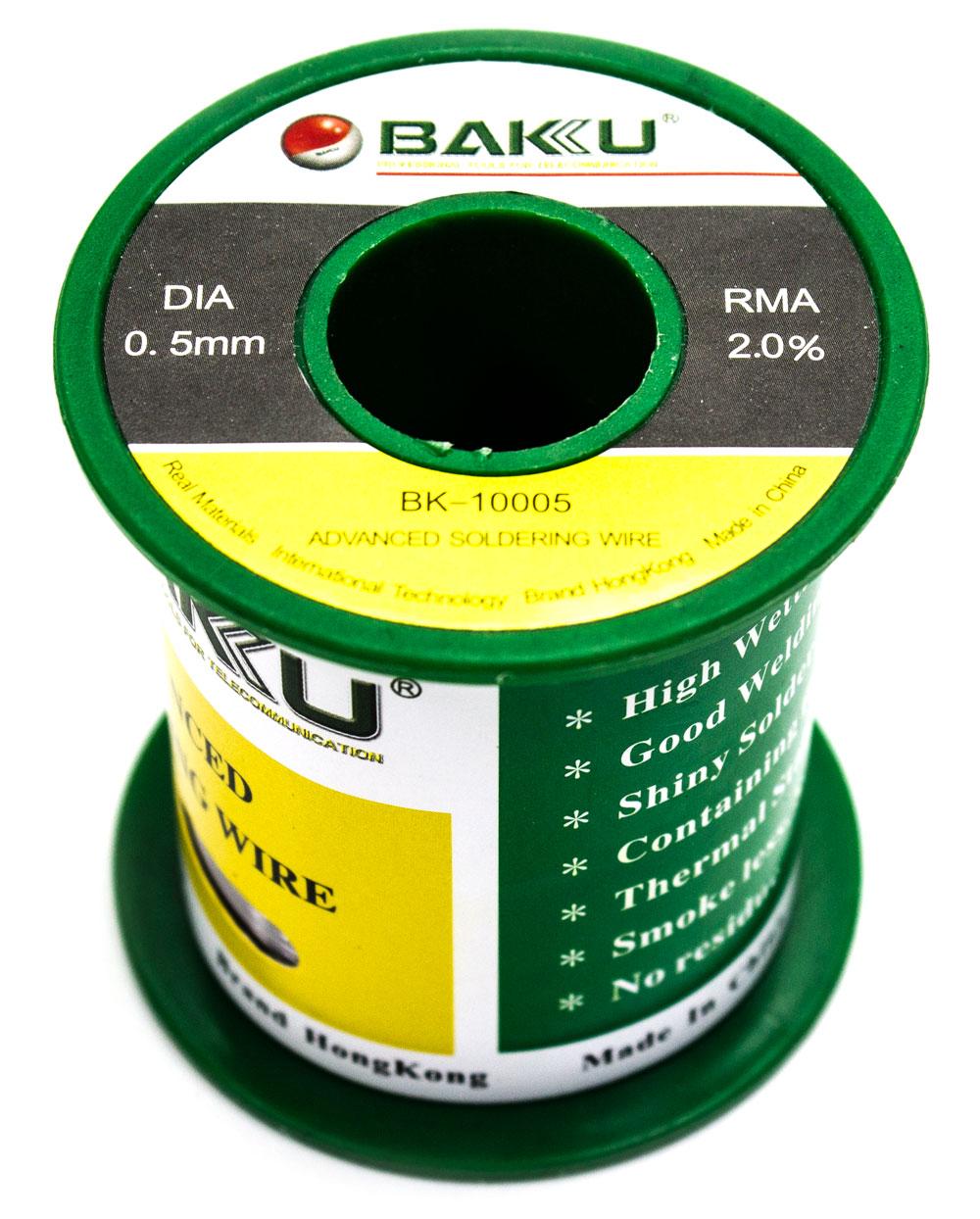 Estańo 0.5mm BAKU-10005 100G