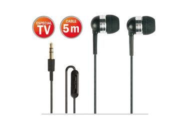 Mini auriculares estéreo Hi-Fi 5M Fonestar