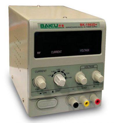 Fuente Alimentación Regulable Digital BAKU-1502D+