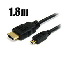 Cable Micro HDMI V1.4  A/M-D/M