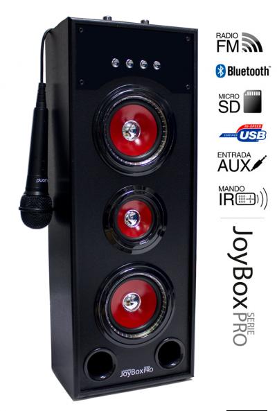 Reproductor JoyBox Karaoke Serie Pro RD