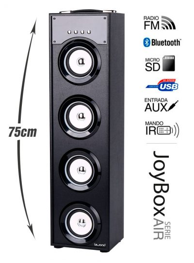 Reproductor JoyBox Serie Air Black
