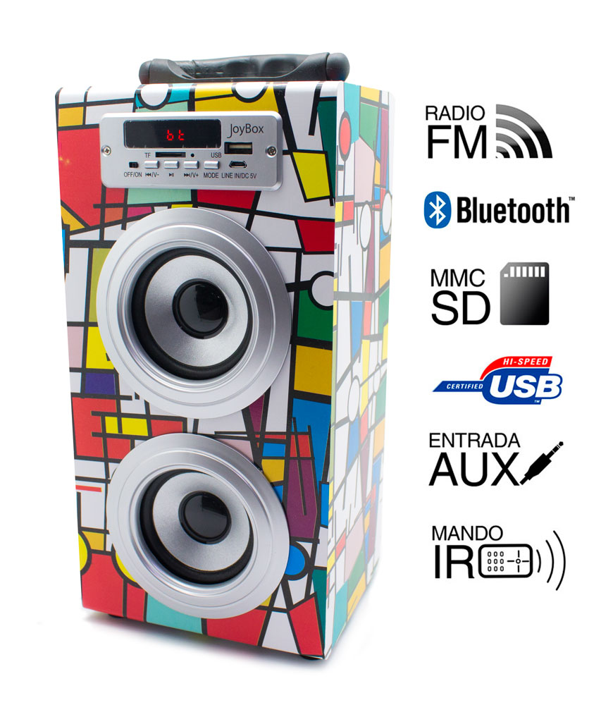 Reproductor JoyBox Bluetooth Picasso  Biwond