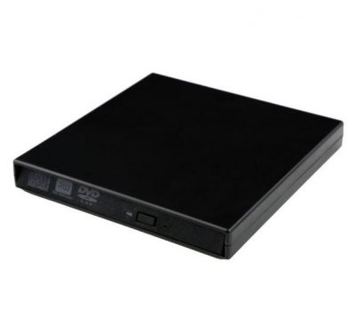 Lector+Grabador CD/DVD Slim Portable USB 2.0