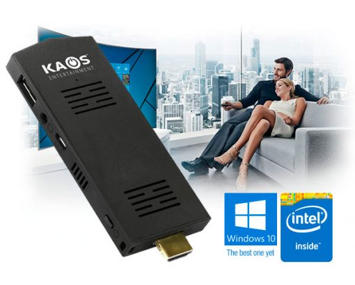 Mini PC Kaos Intel Quad Core 2GB RAM / 32GB eMMC Windows 10
