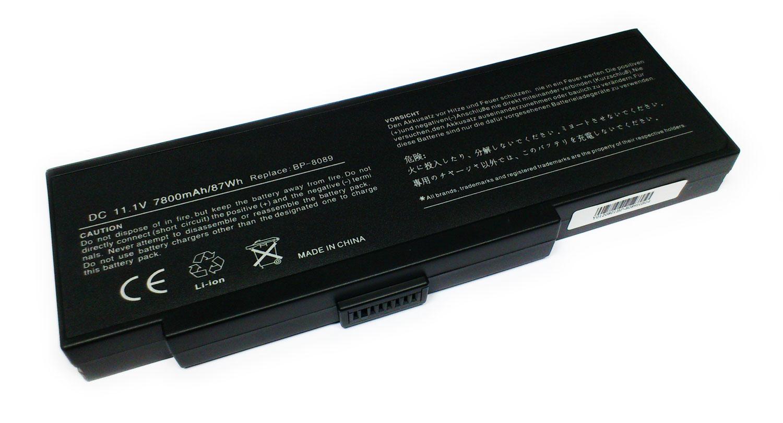 Packard Bell 7800mAh EASYNOTE E2 SIEMENS AMILO K7600, BENQ 2100,
