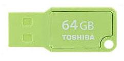 Pendrive 64GB Mikawa Verde Toshiba