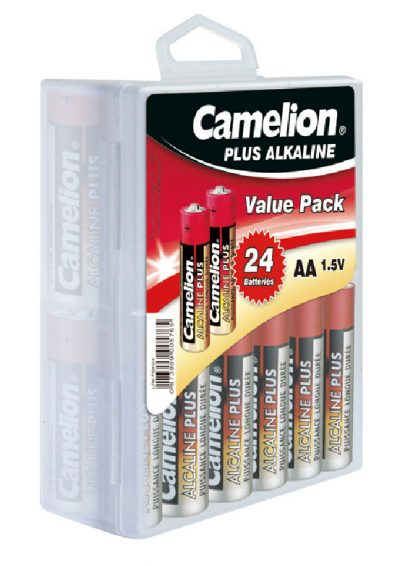 Plus Alcalina AA (Blister 24 pilas) Camelion