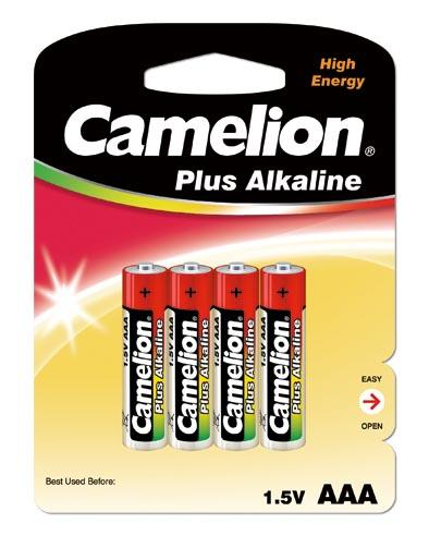 Plus Alcalina AAA 1.5V (4 pcs) Camelion