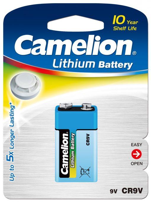 Litio 9V (1 pcs) Camelion