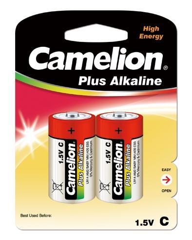 Plus Alcalina C 1.5V (2 pcs) Camelion