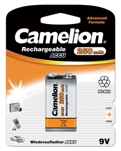 Recargable 9V 250mAh (1 pcs) Camelion