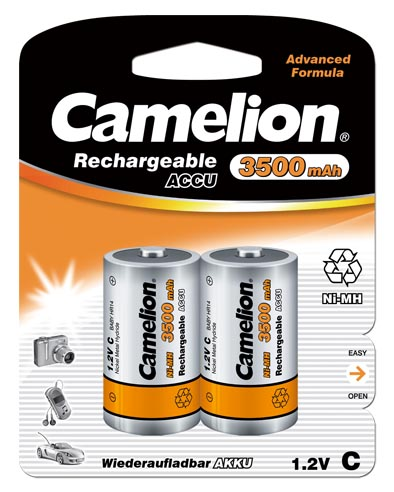 Recargable C 3500mAh (2 pcs) Camelion