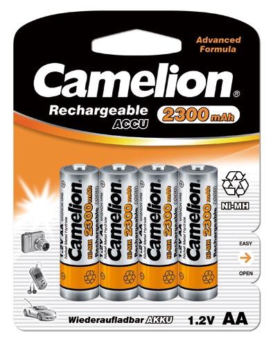 Recargable AA 2300mAh (4 pcs) Camelion