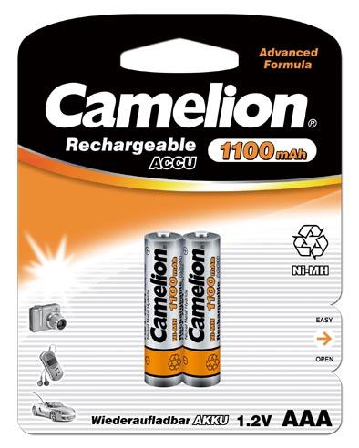 Recargable AAA 1100mAh (2 pcs) Camelion