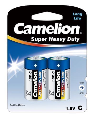 Salina Azul C/R14 1.5V (2 pcs) Camelion