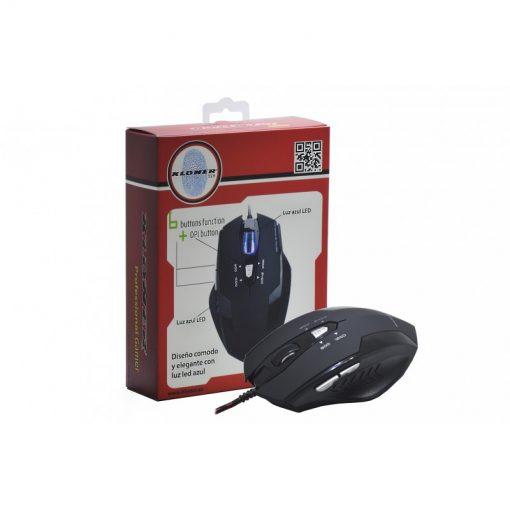 Ratón Gaming USB Origen 2400 DPI