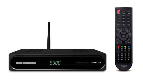 Receptor Satélite HD RDS-584WHD WIFI + Cable HDMI Fonestar