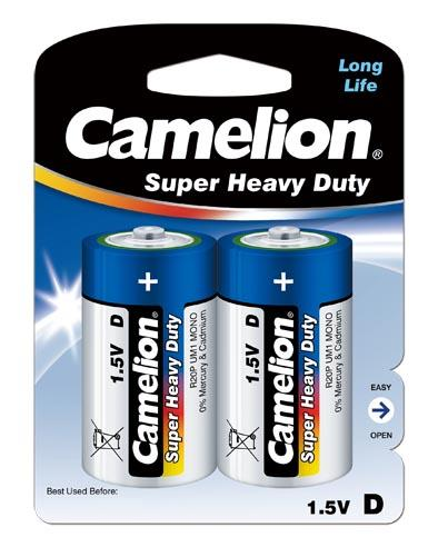 Salina Azul D/R20 1.5V (2 pcs) Camelion