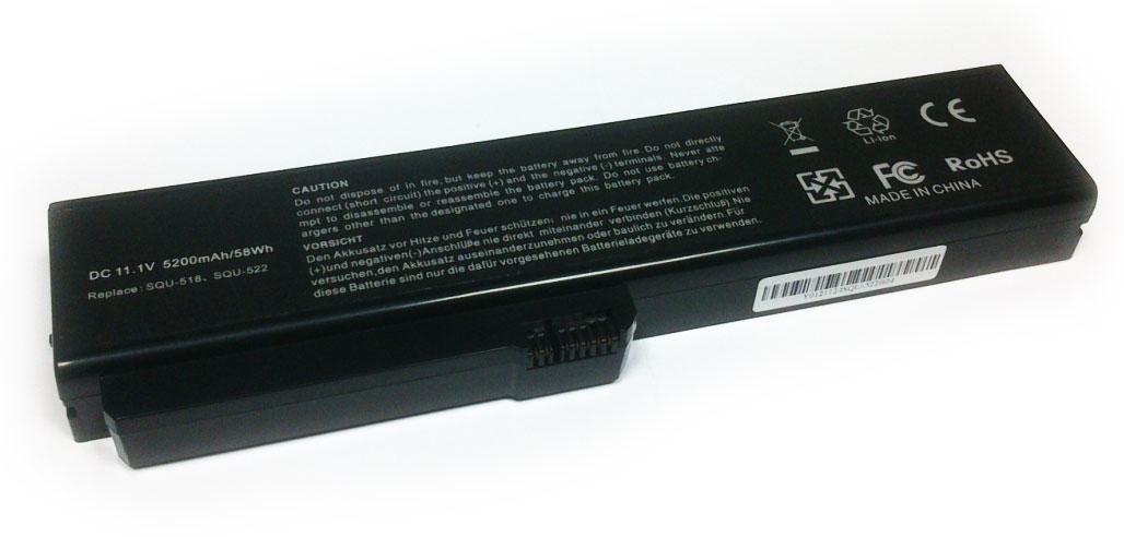 Fujitsu 5200mAh AMILO PRO EDITION V3405 V3525 V3545