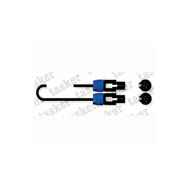 Cable Speakon – Speakon 6 metros TASKER